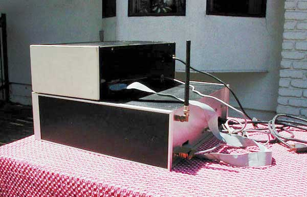 KA6M/R - Packet Radio Repeater, 1980 ~ Back View